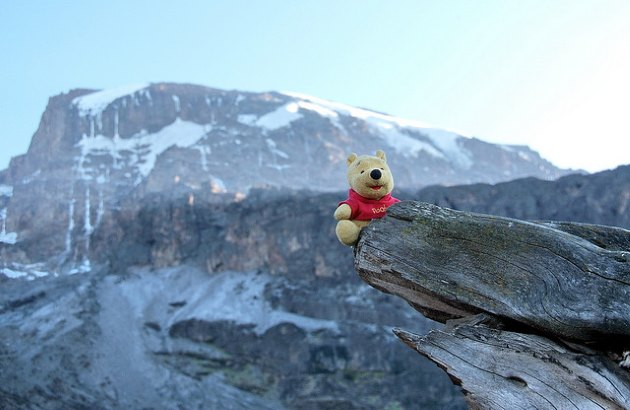 Afrika Gletscher Kilimandscharo