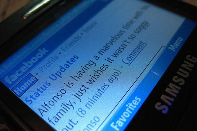 Facebook mobiler Bezahldienst