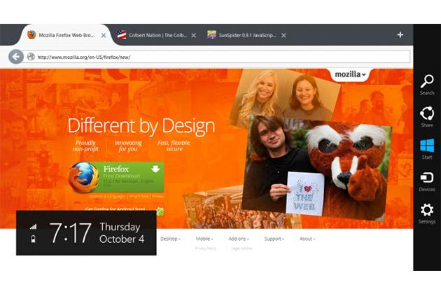 Firefox iPhone und iPad Nachrichten