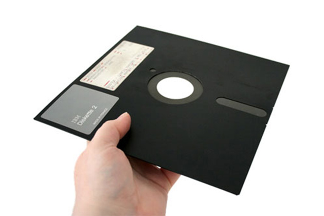 Floppy-Disc Betamax digitales Babylon