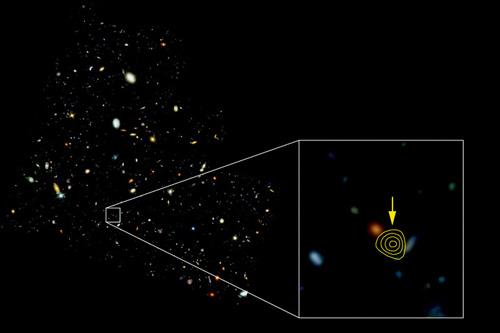 Galaxie-HDF-850.1