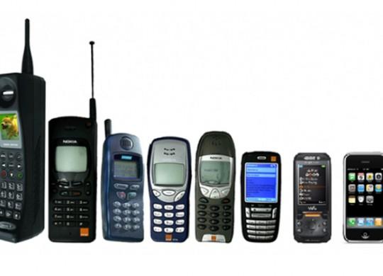 Handy Smartphone Entwicklung Studie