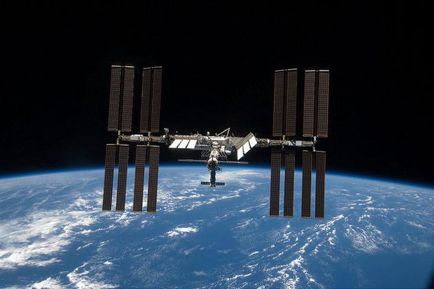 ISS-Ausseneinsatz aktuelle Position 2014