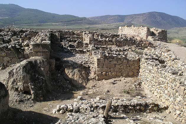 Israel aegyptische Sphinx Mykerinos Tel Hasor