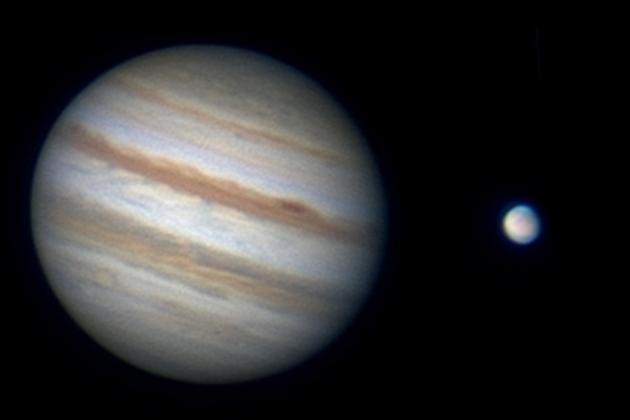 Jupiter Venus und Mars Besondere Planetenkonstellation News