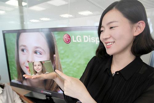 LG-Smartphone-5-Zoll-Display