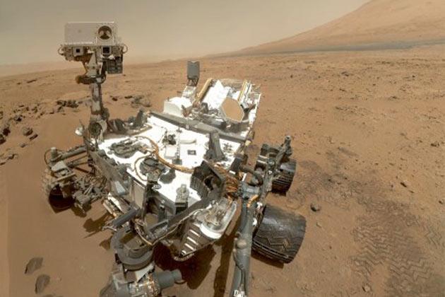NASA Mars-Rover Curiosity Bilder