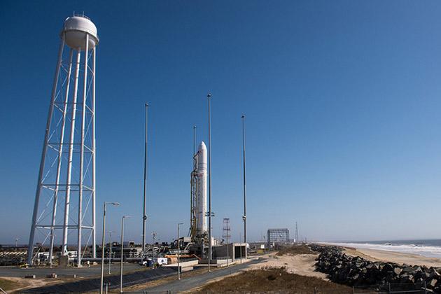 NASA Traegerrakete Antares Testflug Nachrichten