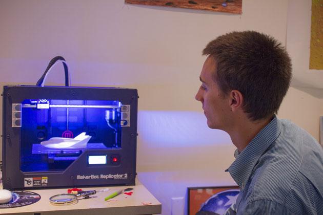 NASA Triebwerksteil 3D-Drucker