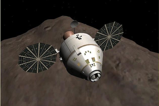 NASA plant Asteroiden einzufangen