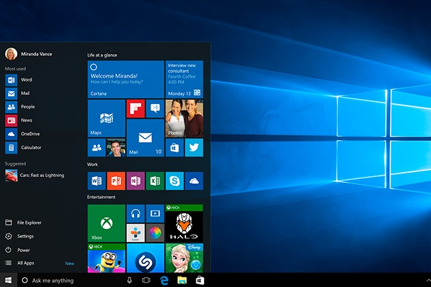 Windows 10 Marktanteil