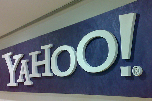 Yahoo-E-Mail-Benutzerkonten Hacker-Zugangsdaten
