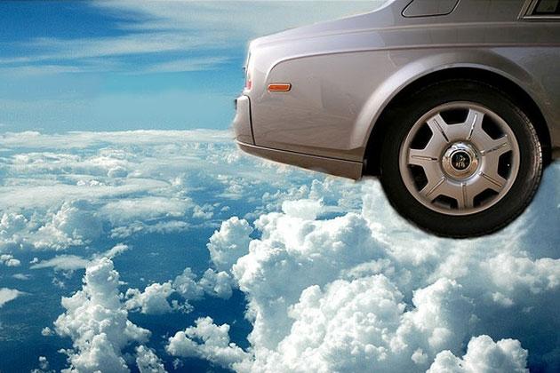Zukunftsforschung Zukunft fliegende Autos
