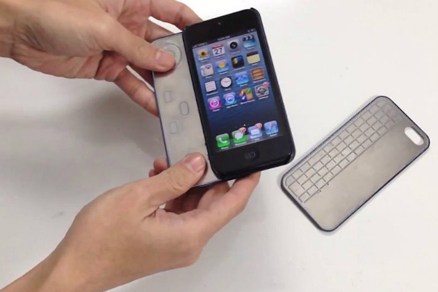 iPhone-5-Tastatur-Gamepad